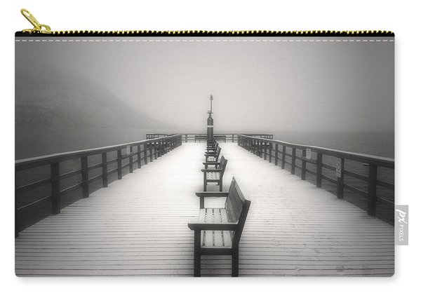 The Winter Pier Carry-all Pouch
