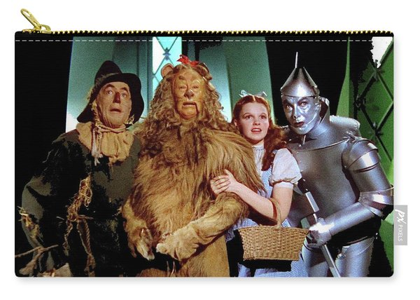 The Wizard Of Oz  Quartet Eric Carpenter Publicity Kodachrome 1939 Carry-all Pouch
