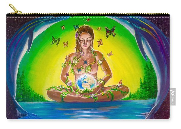 The World Held In Her Womb Carry-all Pouch