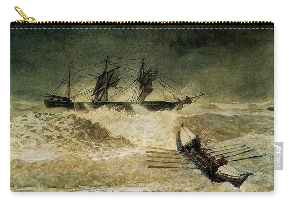 The Wreck Of The Iron Cloud, 1881 Carry-all Pouch
