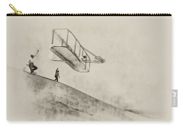 The Wright Brothers At Kittyhawk Carry-all Pouch