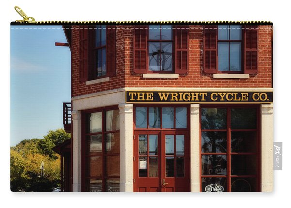 The Wright Cycle Co. - Dayton Ohio Carry-all Pouch