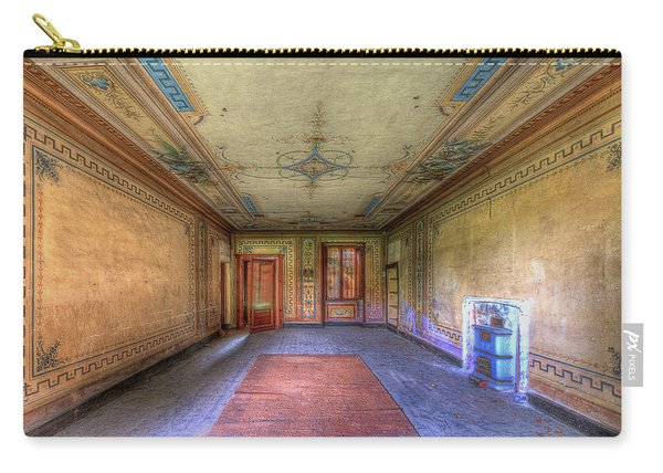 The Yellow Room Of The Villa With The Colored Rooms Carry-all Pouch