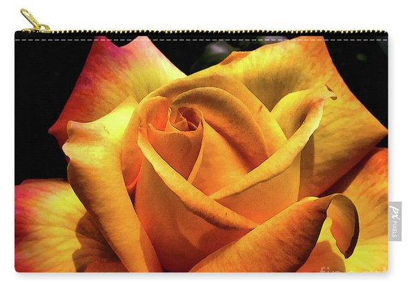 The Yellow Rose Carry-all Pouch