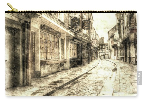 The York Shambles Vintage Carry-all Pouch