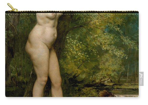 The Young Bather, 1866 Carry-all Pouch