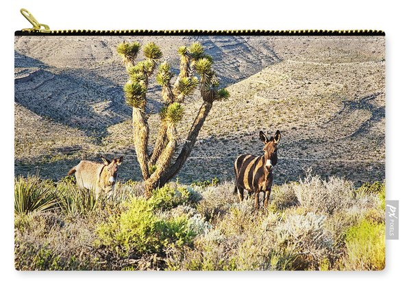 The Zebra Burro Carry-all Pouch