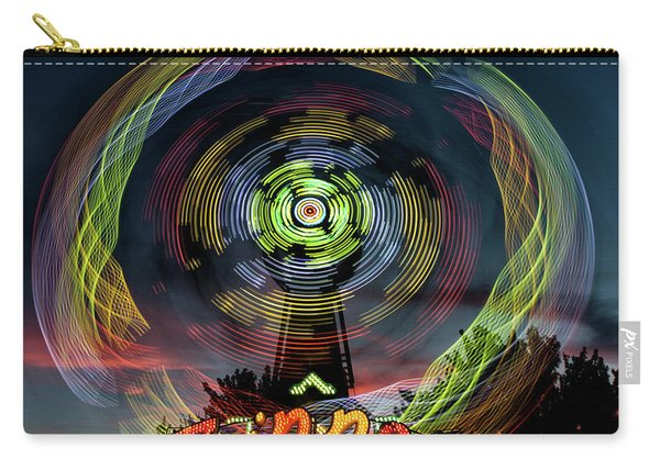 The Zipper Motion Art By Kaylyn Franks Carry-all Pouch