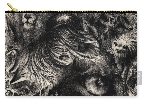 The Zoo Girl Carry-all Pouch