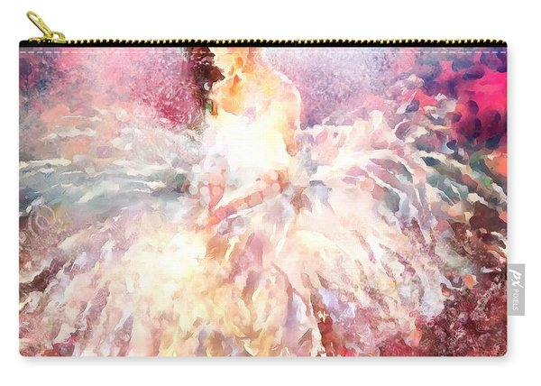 thebroadcastmonkey Painting Carry-all Pouch