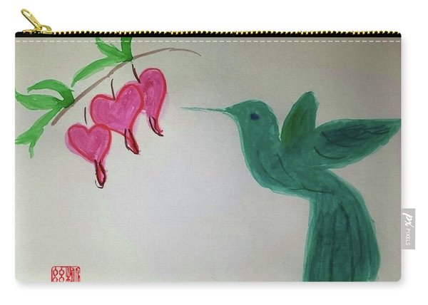 The Joy Of Hummingbird Carry-all Pouch