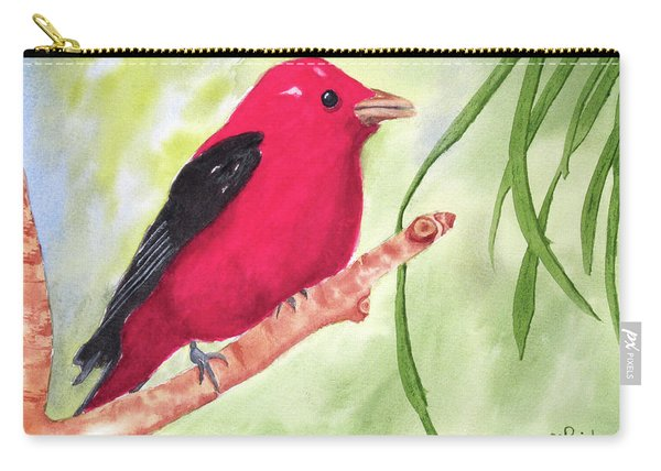 Theodore Tanager Carry-all Pouch