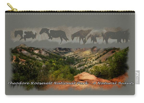 Theodore Roosevelt National Park Carry-all Pouch