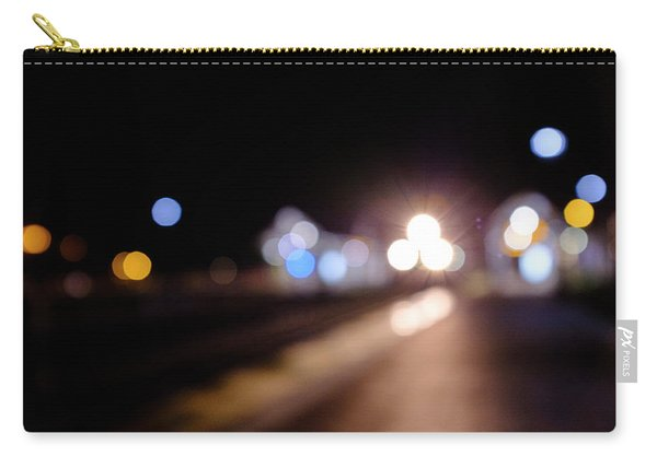 There Is A Train Coming In Winter Park Florida Carry-all Pouch
