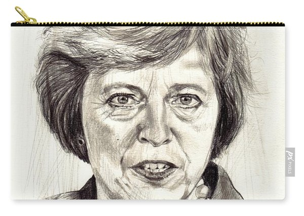 Theresa May Portrait Carry-all Pouch