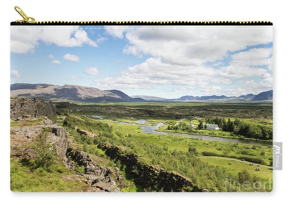 Thingvellir National Park In Iceland Carry-all Pouch
