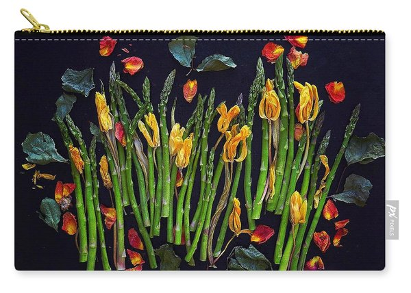 Think Spring Asparagus Carry-all Pouch