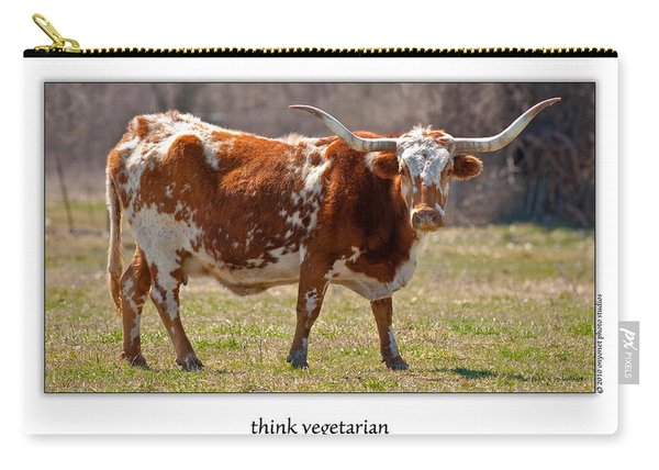 Think Vegetarian Carry-all Pouch