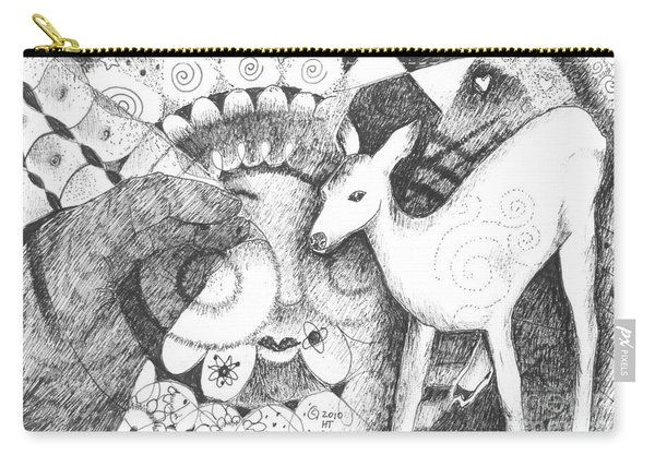 Thinking Of Mary Carry-all Pouch