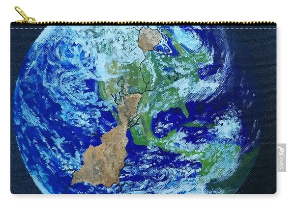 Carry-all Pouch featuring the painting Thinner Than An Eggshell by Kevin Daly