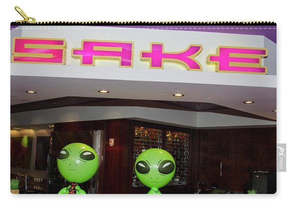 Thirsty Aliens Desire Sake Carry-all Pouch