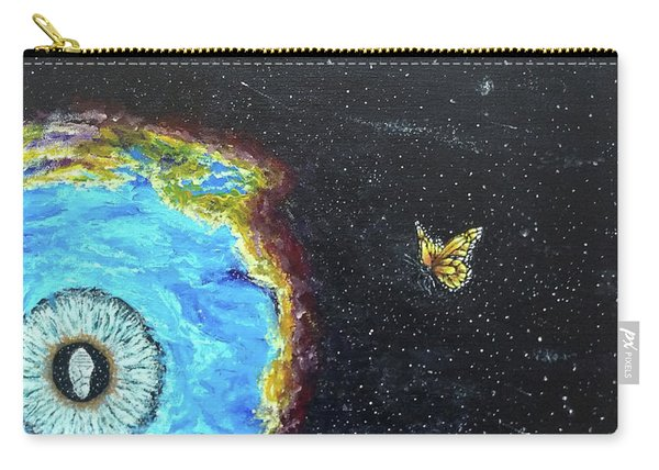 Carry-all Pouch featuring the painting This Is Where... by Kevin Daly