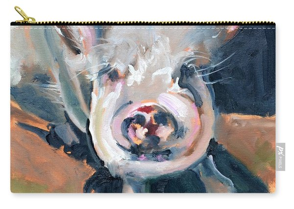 This Little Piggy At Spring Valley Farm Carry-all Pouch