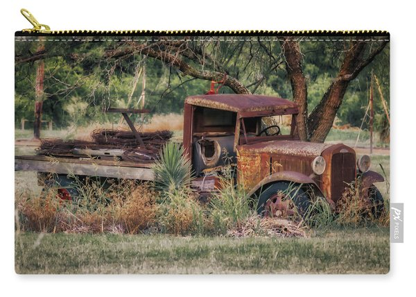 This Old Truck Carry-all Pouch