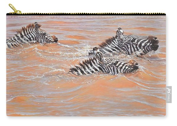 Carry-all Pouch featuring the painting This Way Son by Alan M Hunt