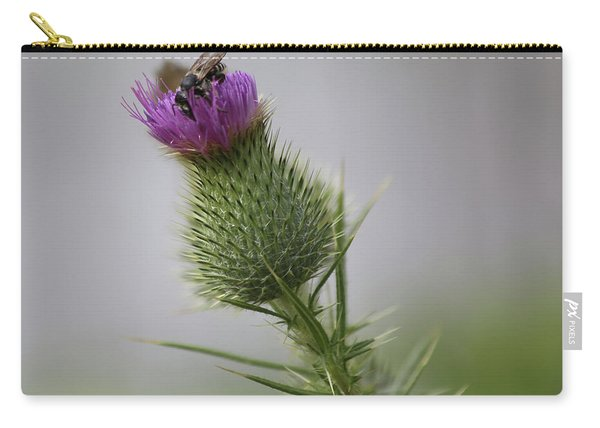 Thistle And Bee 2 Carry-all Pouch