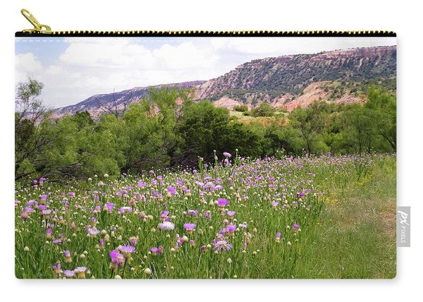 Thistles In The Canyon Carry-all Pouch