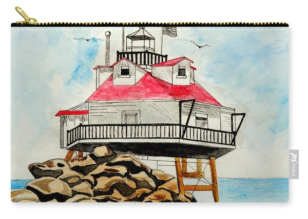 Thomas Point Lighthouse Carry-all Pouch