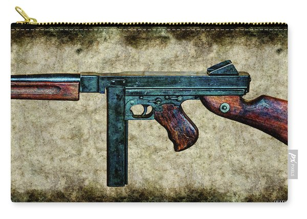 Thompson Sub-machine Gun 1944 Carry-all Pouch