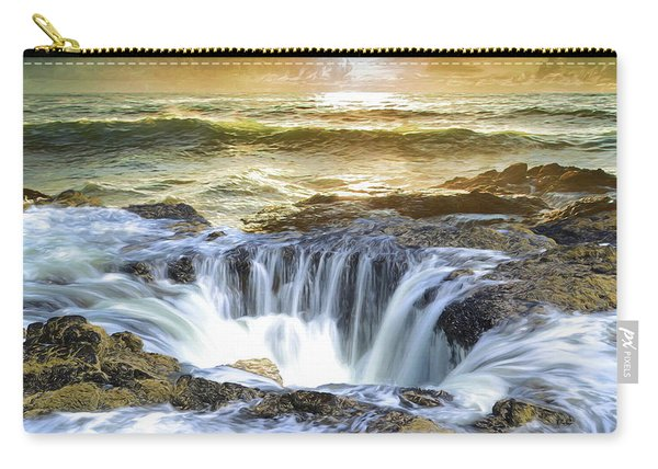Thor's Well - Oregon Coast Carry-all Pouch