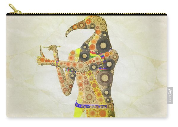 Thoth, God Of Egypt By Mary Bassett Carry-all Pouch