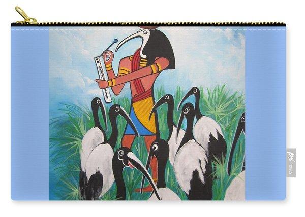 Blaa Kattproduksjoner         Thoth - What's With The Sombrero Carry-all Pouch