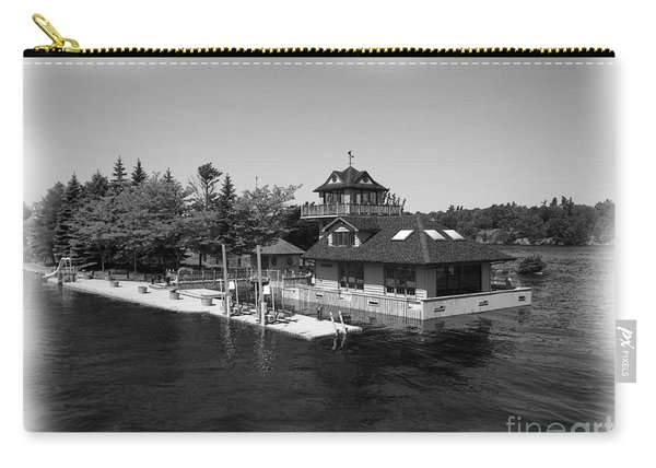 Thousand Islands In Black And White Carry-all Pouch