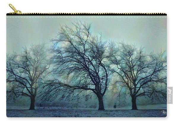 Three Bare Trees Carry-all Pouch