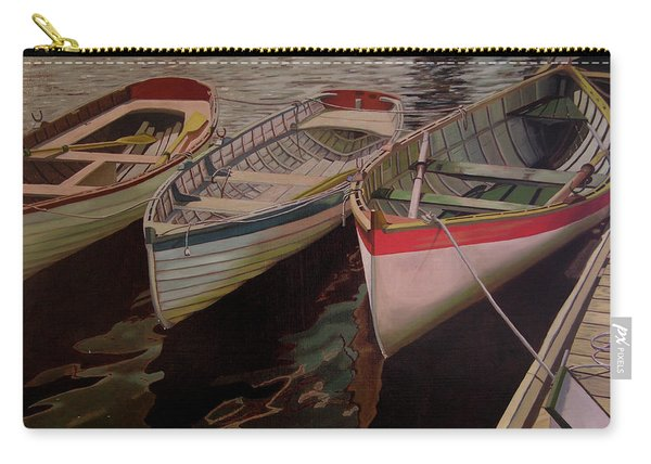 Three Boats Carry-all Pouch