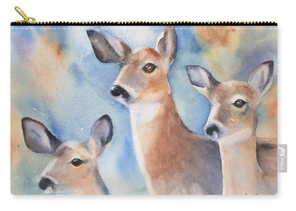 Three Deer Carry-all Pouch