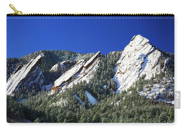 Three Flatirons Carry-all Pouch