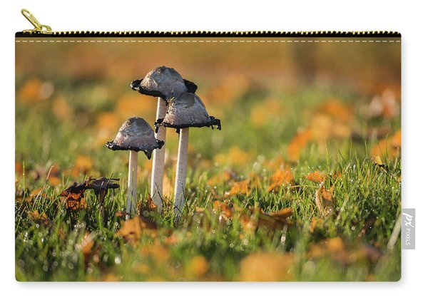 Three Fungi Carry-all Pouch
