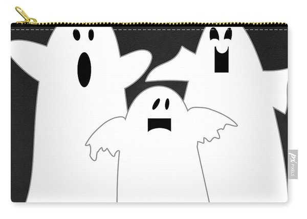 Three Ghosts Carry-all Pouch