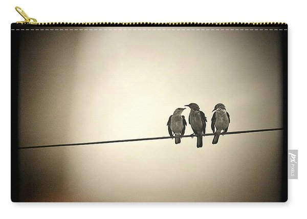 Three Little Birds Carry-all Pouch