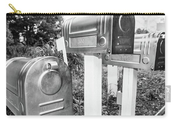 Three Mailboxes Carry-all Pouch