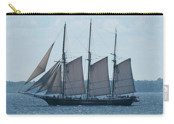 Three Masted Antique Carry-all Pouch
