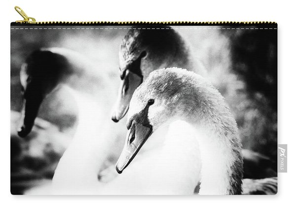 Three Swans  Carry-all Pouch