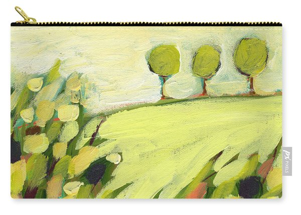 Three Trees On A Hill Carry-all Pouch