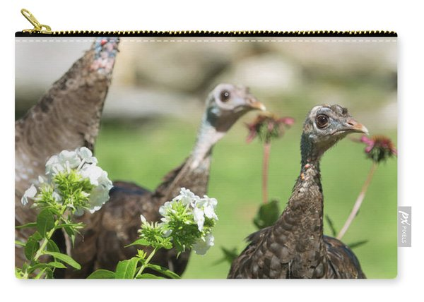 Threes A Crowd Carry-all Pouch