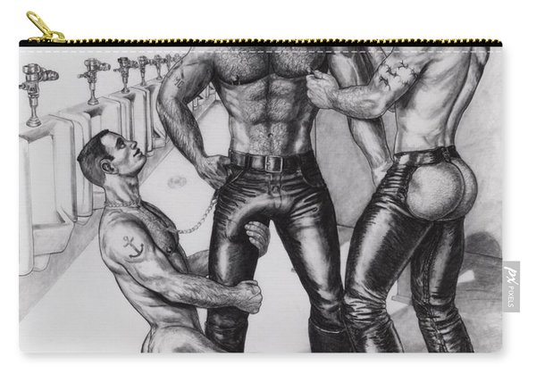 Threeway In Tearoom Carry-all Pouch